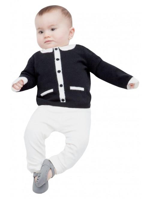 Baby Winter Cashmere Crewneck Sweaters