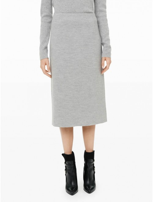 Cashmere Tight Long Skirt