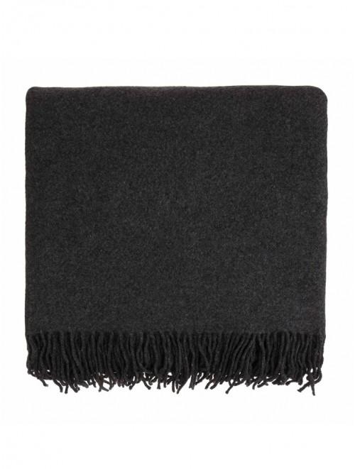 Warm Plain Kids Wool Blended Travel Blanket