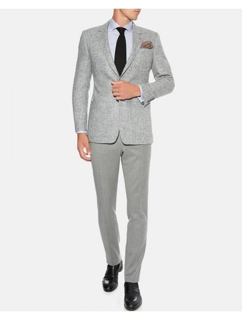 Custom Woolen Cashmere Men Suit