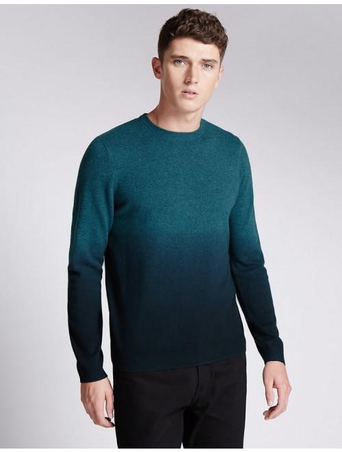 Fashional Men Crew Neck Cashmere Knit Sweater