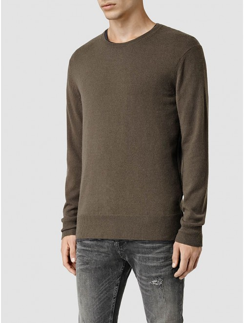 Men Woolen Cashmere Round Neck Sweater