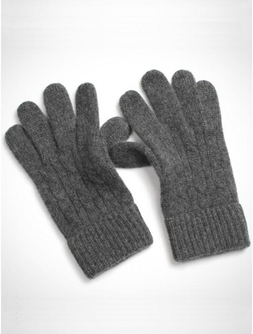 Super Soft Kashmir Cable Knit Gloves