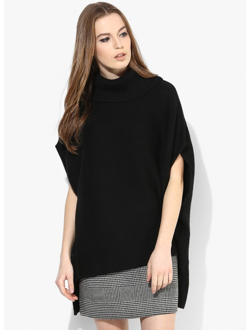 Wholesale 100% Wool Poncho Sweaters