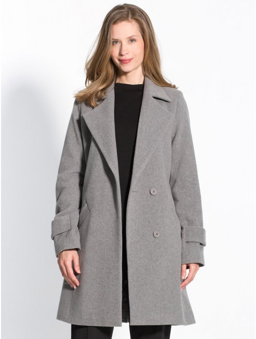 Women Classic Long Cashmere Overcoat