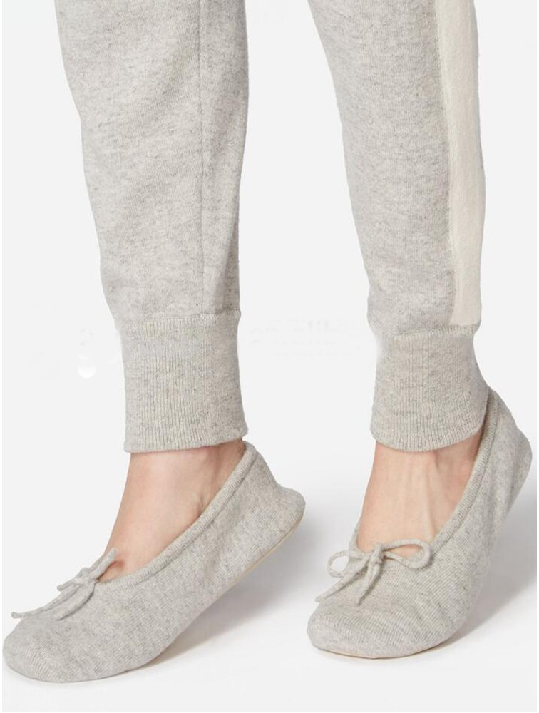 Women Cashmere Ballet Slippers