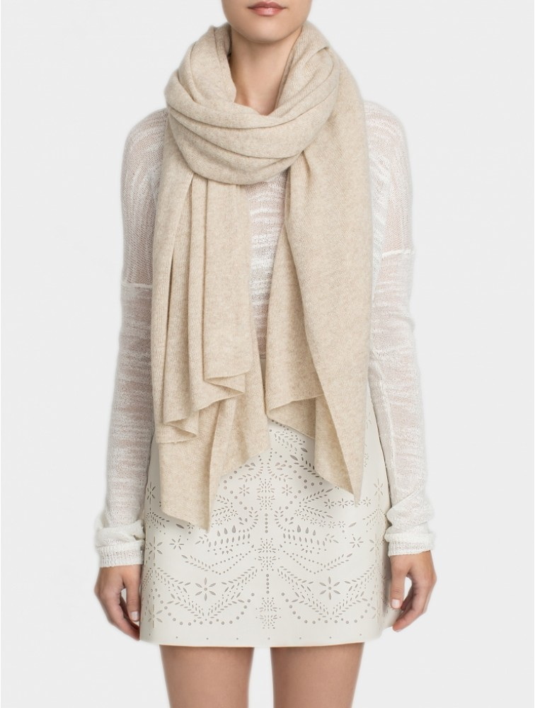 Winter Solid Color Cashmere Scarf