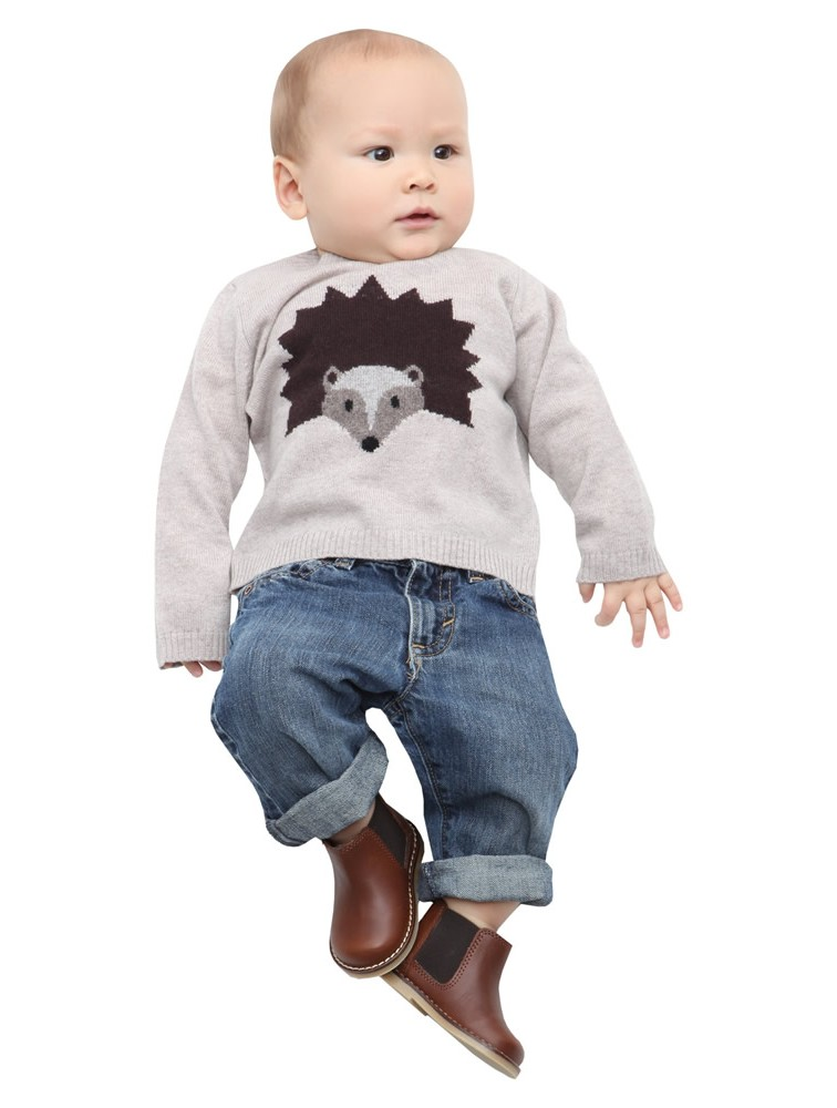 Baby Cartoon Cashmere Kintwear