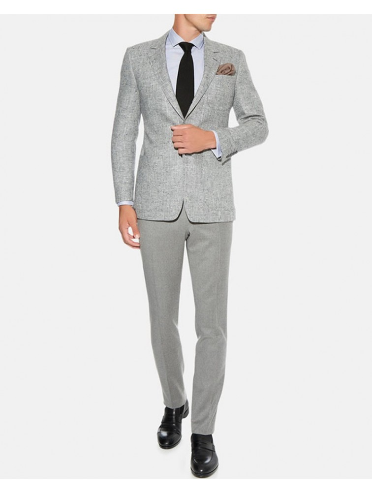 Custom Woolen Cashmere Men Suit