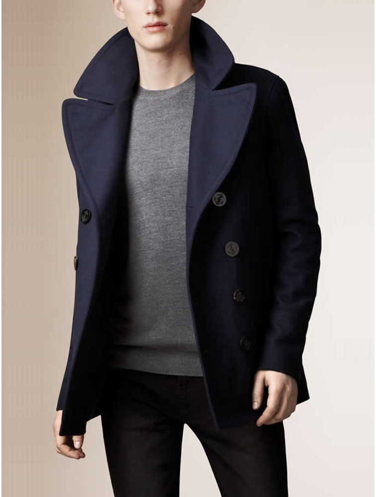 Fashion Style Men Winter Woolen Coat