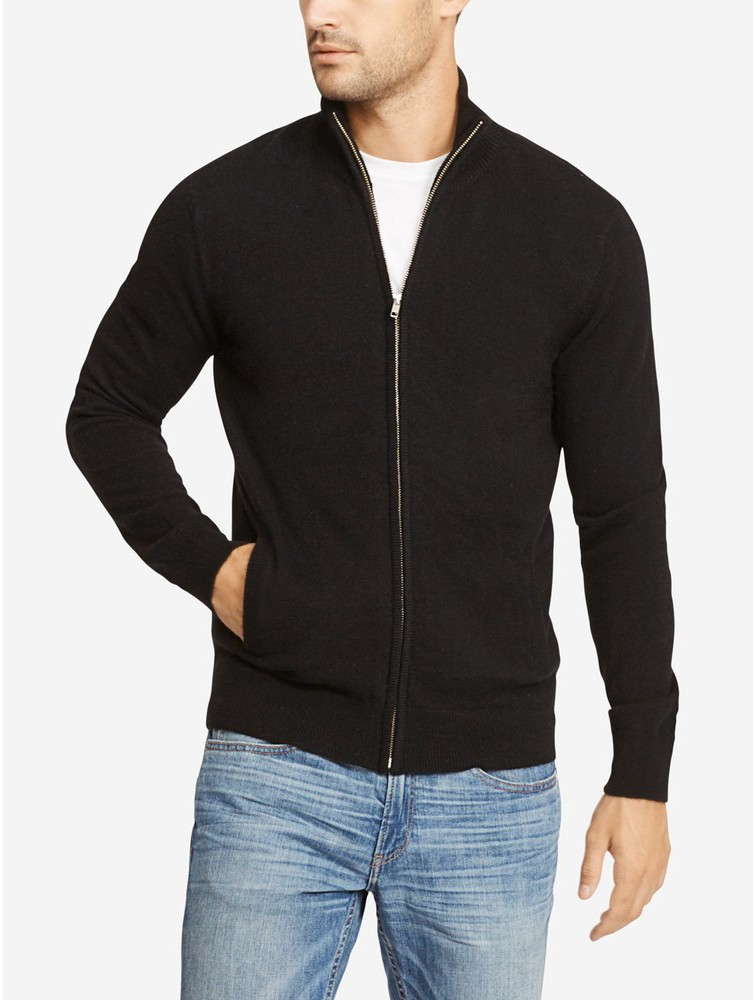 Jacket Style Men Cashmere Cardigan