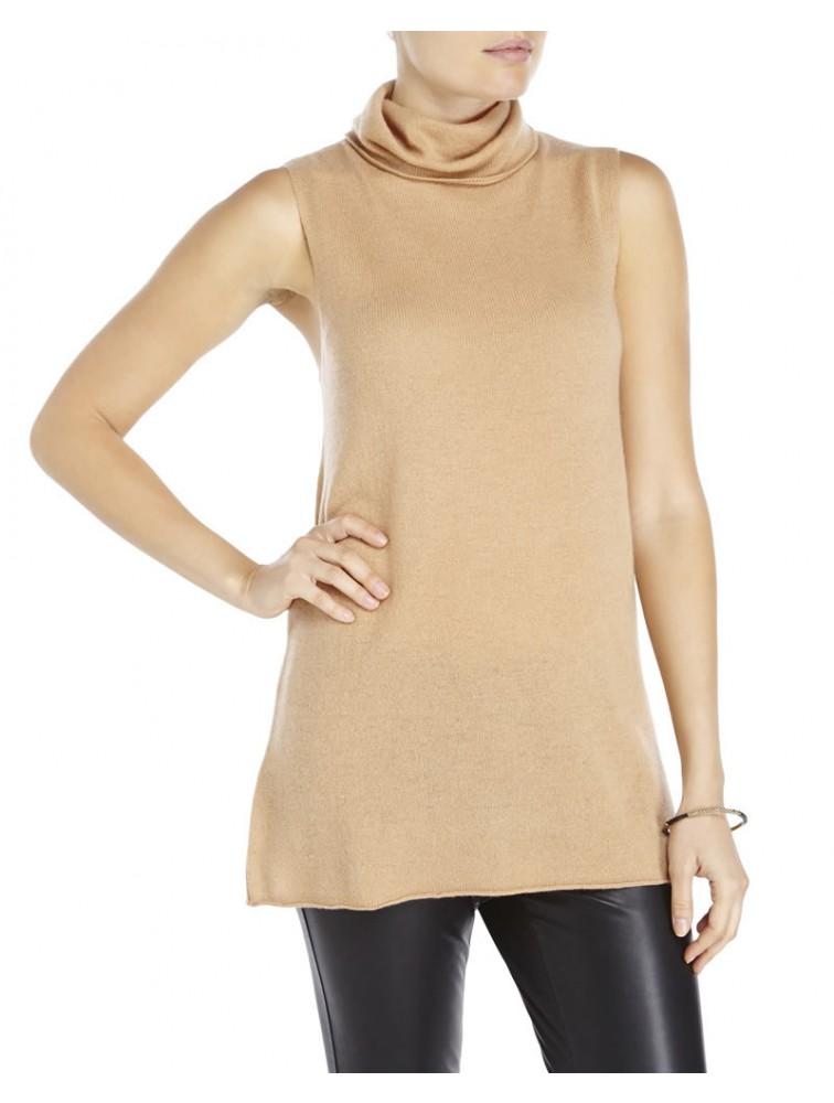 Lady Merino Wool Sleeveless Sweater Vest