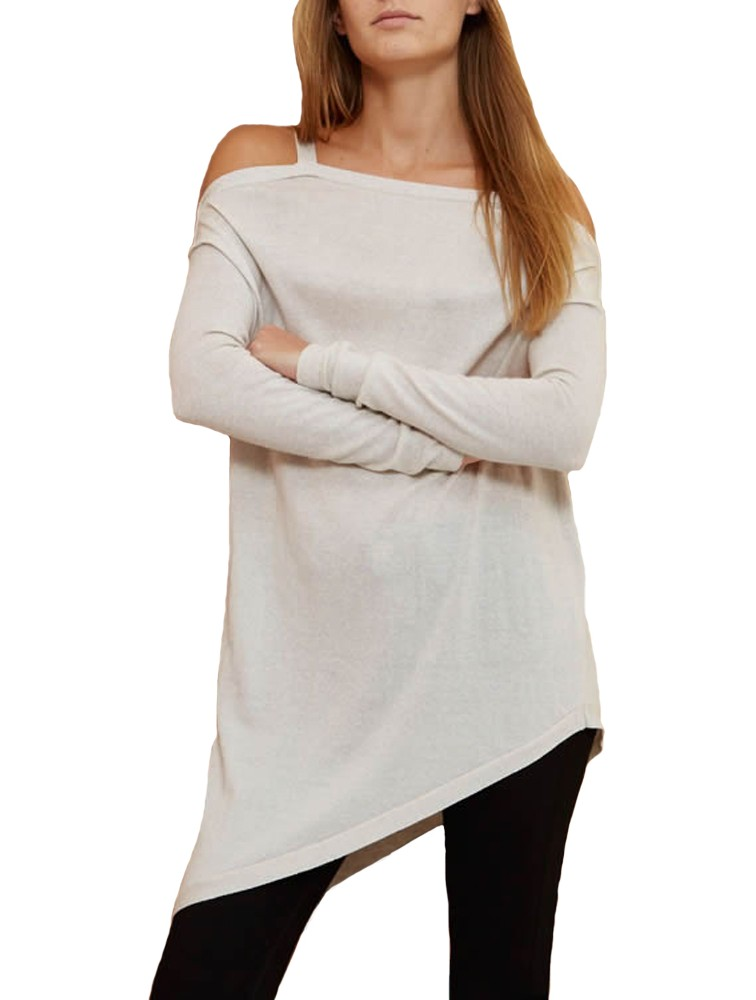 Manufacturer Price Off Shoulder White Cashmere Sweater Cape for Women