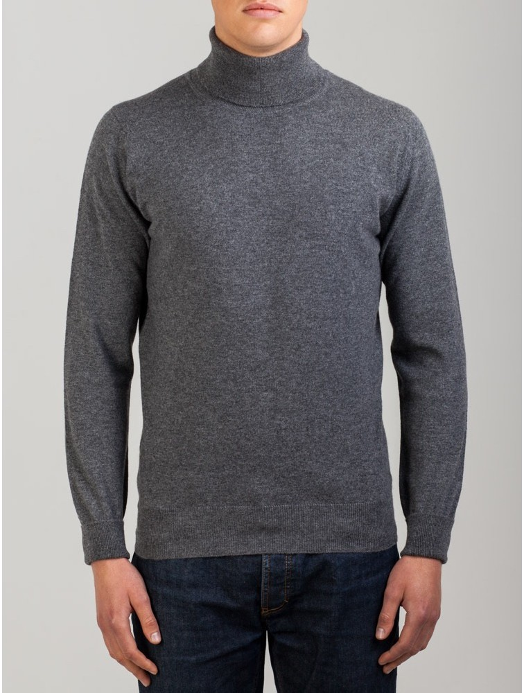 Men Turtleneck Classic Cashmere Kintwear