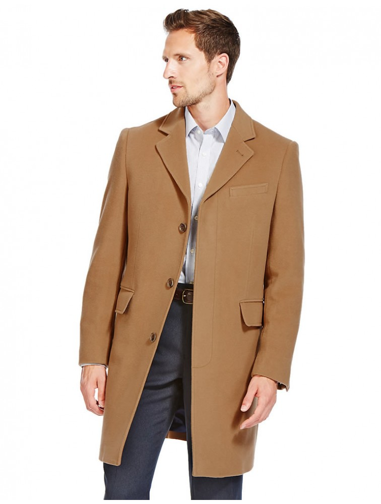 New Style Classic Top Quality Men Wool Coat