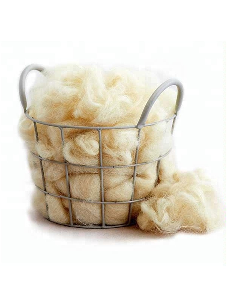 Raw Washed Carded Merino Wool Tops and Fiber for Spinning Wholesale