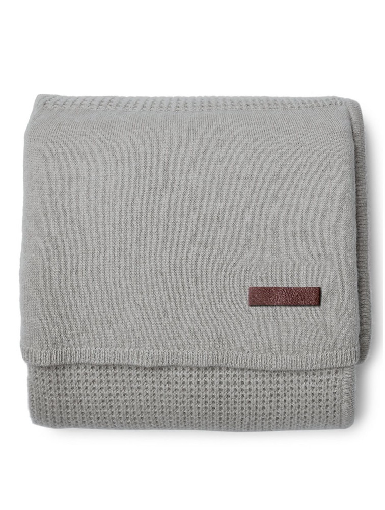 100% Cashmere Knitted Baby Throw Blankets