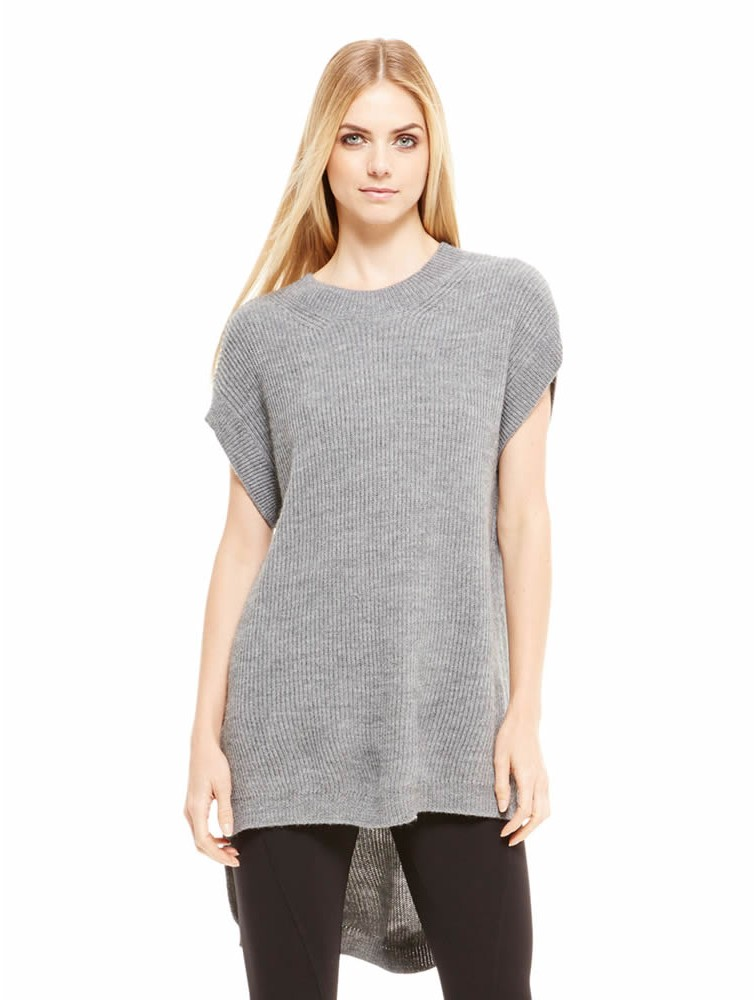 Short Sleeve Erdos Wool Cashmere Sweaters
