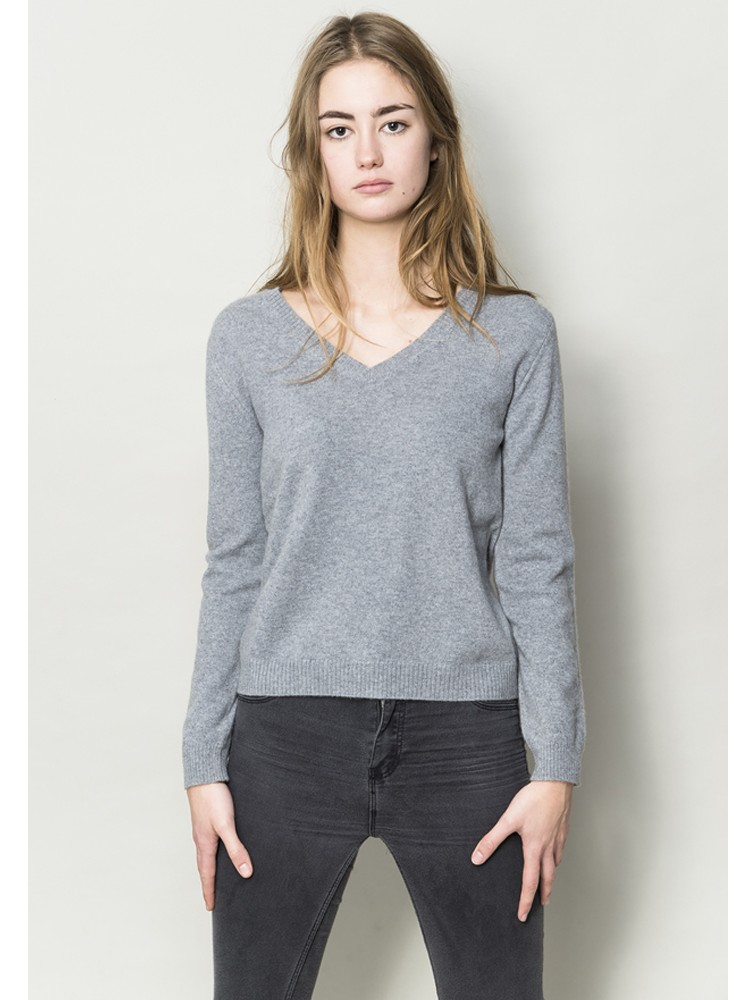 Custom Crop Bulky Woolen Pullover
