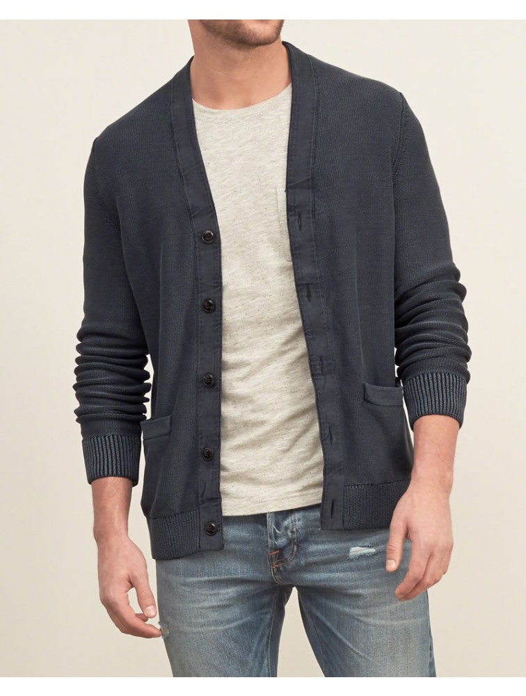 Customised Cashmere Cardigan Sweater for Men