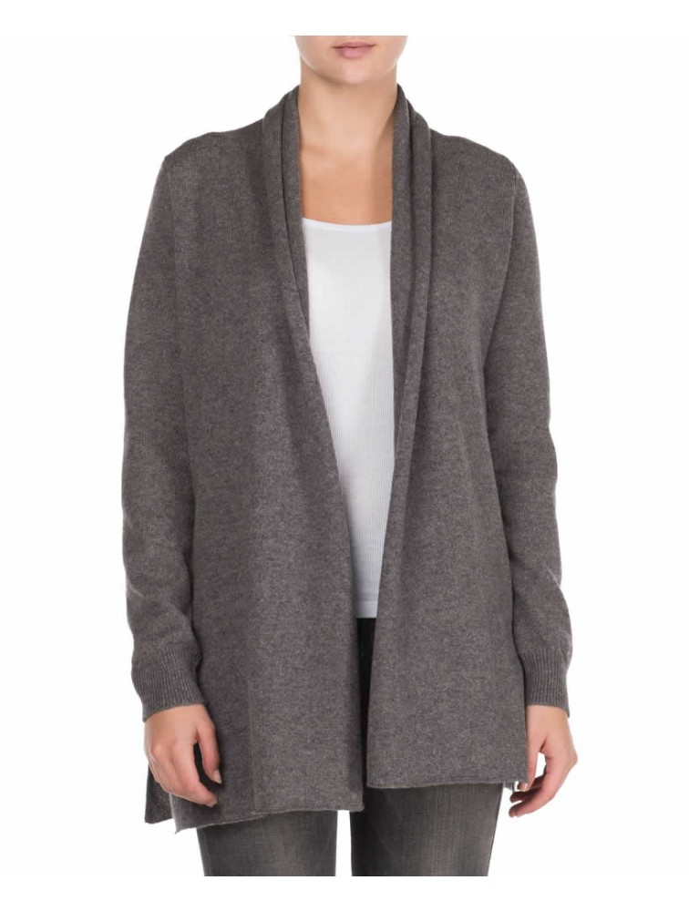 Merino Long Knitted Cardigan