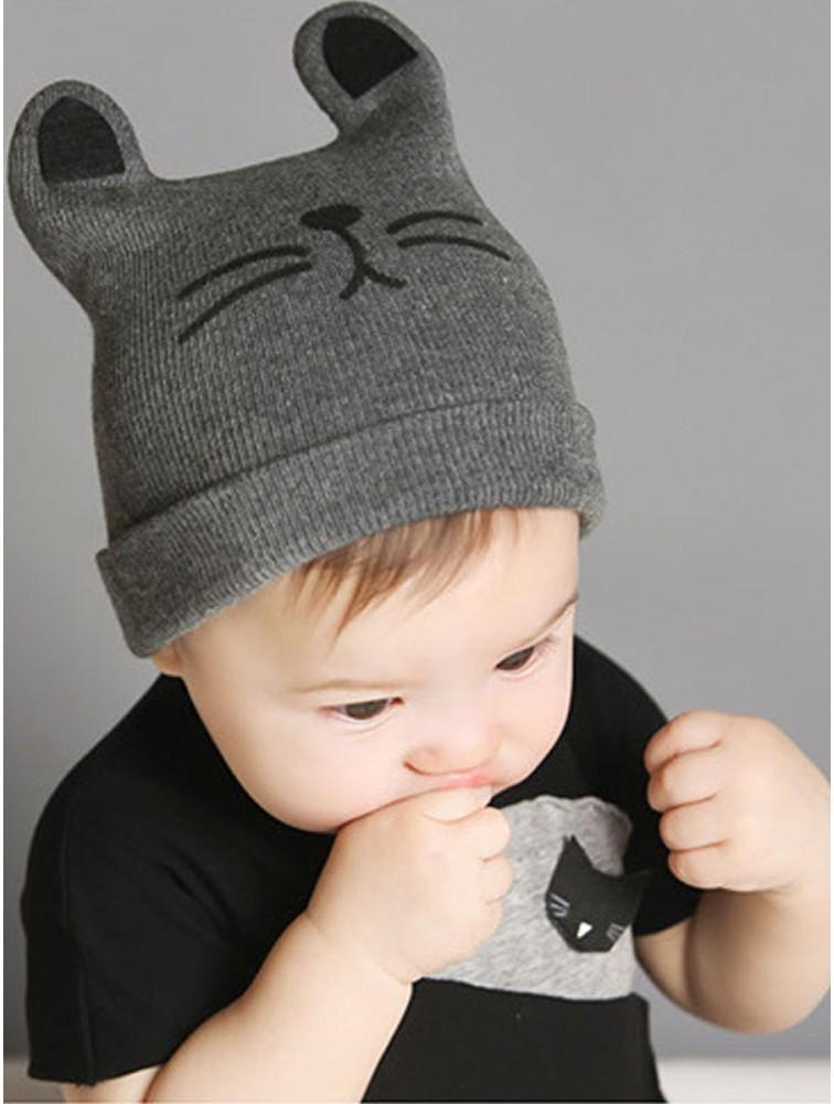 Baby Cute Knit Beanies Cap
