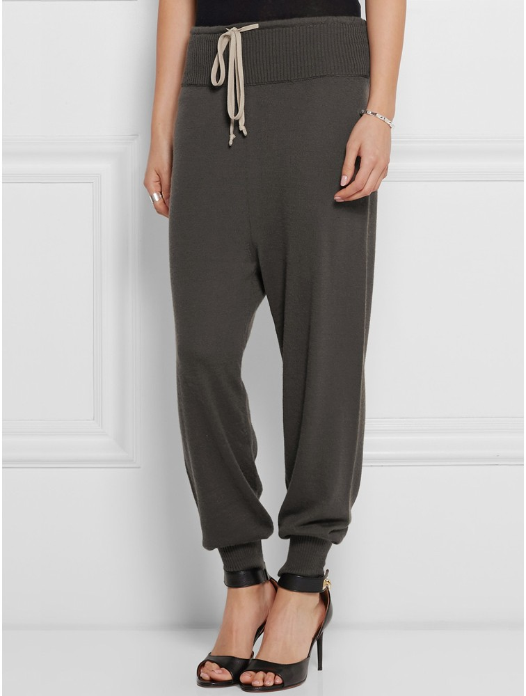 Women knitted Cashmere Pants