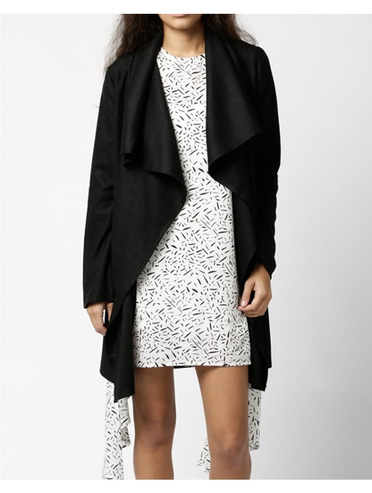 Women New Design Long Cashmere Winter Coat